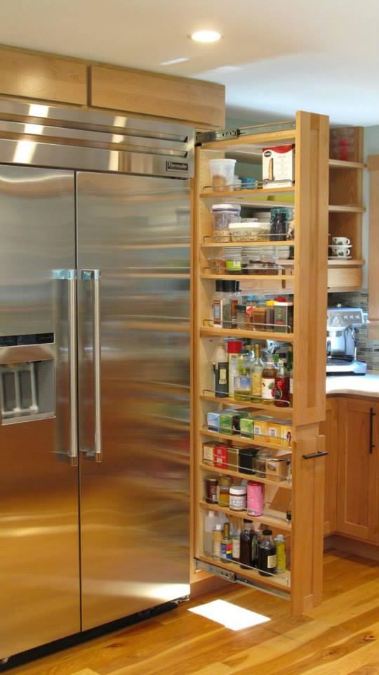 Skinny Pull Out Spice Rack